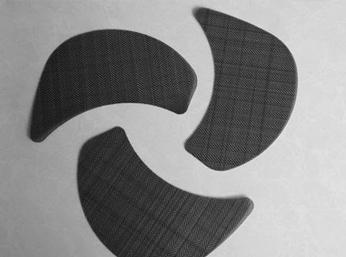 上海黑丝布异形网