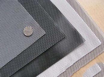 黑丝布异形网